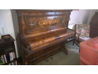 Old and Attractive G.F.Smith Upright Piano