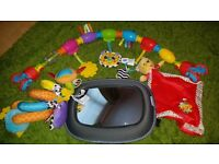 Baby pram toys & car mirror