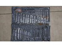 48 piece spanner set chrome vanadium steel