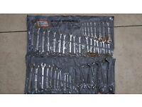 48 piece spanner set chrome vanadium steel