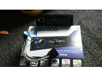 kenwood in car audio, cd with usb interface