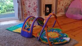 Baby activity centre gym and mat. Lights and sounds