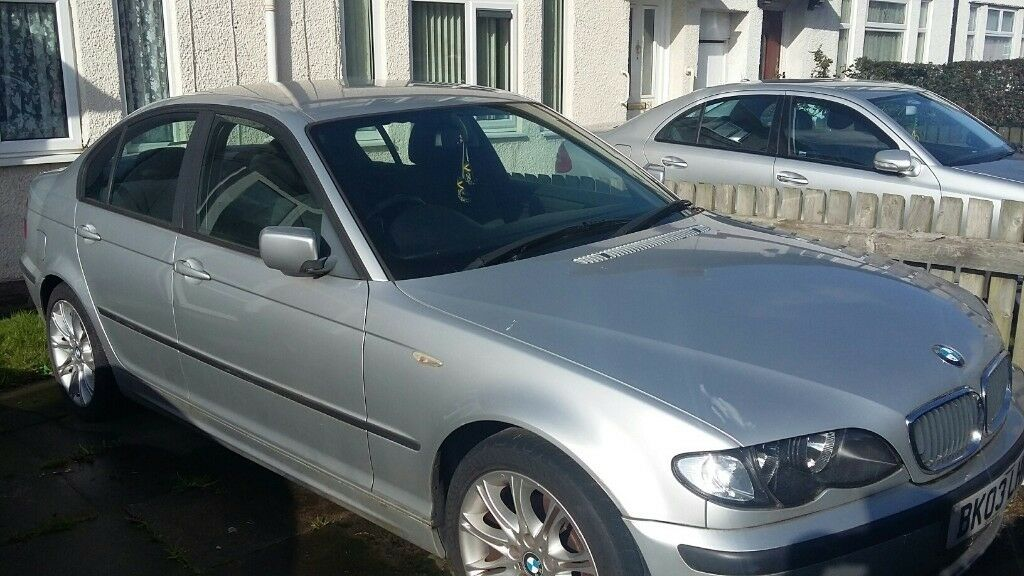 silver bmw 318 spare and repairs