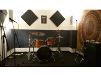 Live work Music production and rehearsal studio available to hire monthly BS2