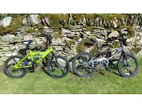 Two kids' bikes for sale
