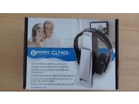 Geemarc CL7400 Amplified Wireless Digital TV Headset (For hard of hearing)