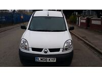 2008 RENAULT KANGOO SL17 DCI 70 Car Derived Van1461 DIESEL MANUAL DRIVES PERFECTLY MOT AND TAX