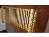 Mamas and Papas Lauren Junior/Toddler Bed Solid Pine with mattress