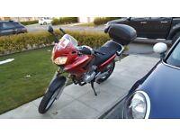 Honda Varadero 125 VB 12K Learner Legal L V-B Red Black Scorpion Trail Tyre's