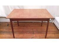 Lovely wood extendable dining table