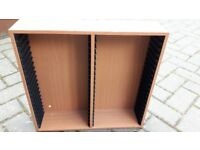 Hama Beech Wood DVD Storage Unit x 4