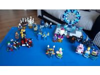 Lego dimensions starter pack with 3 level packs,5 fun packs and 2 team packs
