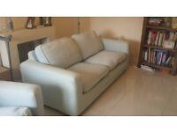 Sofa Bed and accompanying sofa chair