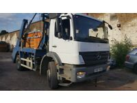Skip Truck/Lorry Quick Sale- fully functional, new tyres, 1 year MOT