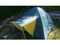 Royal Ohio 2 silver lined 2/3 person Dome Tent