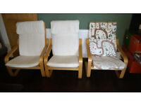 Garden/Conservatory Chairs x 3