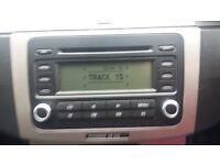 VW RCD300 Radio/Single CD Player
