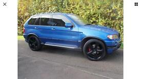 BMW X5 4.6is built by alpina 22 inch Kahn wheels may swap or px cash either way