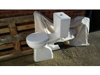 Complete toilet (500 high pan)