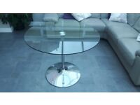 Next glass table