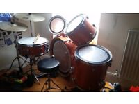 Mapex m birch drum kit
