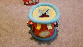 baby toys: Fabric shape sorter