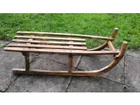 Antique Wooden Sled