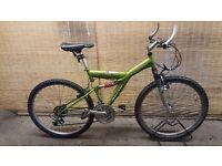 "Unisex mountain bike APOLLO GURU Frame 18"""