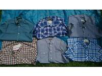 Ben Sherman Shirts and levi (6 bundle)