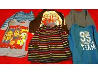 Boys long sleeved t shirts age 3 to 4 years