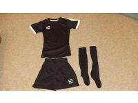 Sondico Kids Football Kit and Adidas Football Shoes