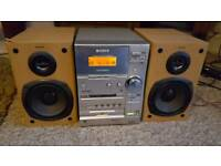 Sony Cmt-Cp33md Hi-fi With Cd/Tape/Minidisc