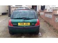Renault Clio Alize Automatic Green 5 door hatchback 1997 good working order