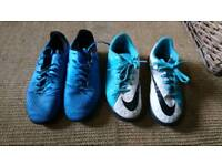 Astroturf boots, size 4