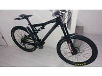 Cannondale rz one40 mountain bike