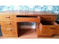 Desk with big storage drawers!!