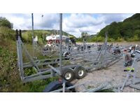 Galvanised yard trailer/trolley for 10 metre yacht - £350 ono for quick sale