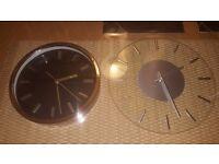 2 Quartz Wall Clock For Sale