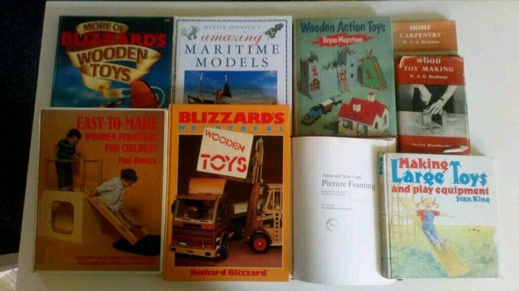 A Number Of Wood Working Books In Sunderland Tyne And Wear Gumtree