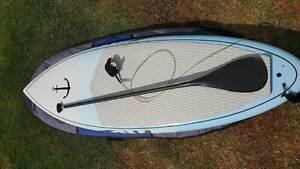 """Standup Paddle (SUP)  - 8.6"""" x 31.5"""" x 4.2"""" Carbon Fibre Floreat Cambridge Area Preview"""