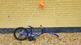 Giant Kids Halfwheeler Tag Along Bike with gears