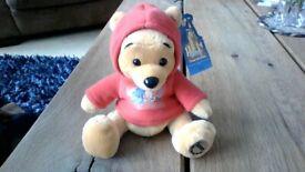 Disney Theme Park Edition 2002 Pooh beanie soft toy