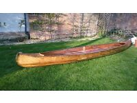 Wooden canoe (great summer project - needs work)