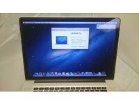 APPLE MACBOOK PRO RETINA 15 INTEL CORE I7 2.6GHZ 16GB RAM WIFI WEBCAM OS X