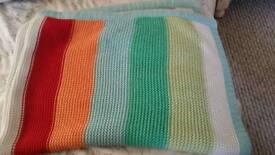 Next chunky cotton blanket to match jungle Safari range £5