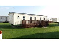 3 bed caravan, West Sands, Selsey. Available from Sept