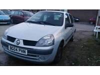 Renault Clio 2004 reg 1.2 petrol
