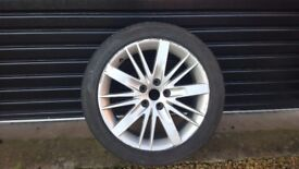 Single Alloy Wheel and Tyre for sale