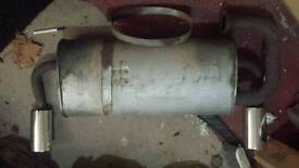 Mgf mk1 rear exhaust silencer