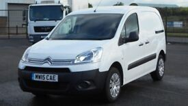 2015 CITROEN BERLINGO HDI 90 BHP ENTERPRISE. AIRCON. 3 SEATS. PARK ASSIST. PLY LINED. ONLY 33K MILES